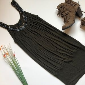 Olive Green XXI (Forever 21) Cocktail Dress